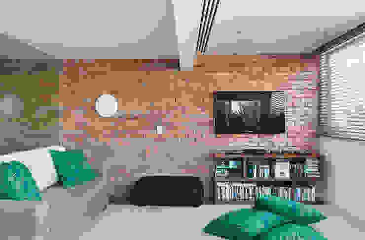 House in Rio Livings de estilo moderno
