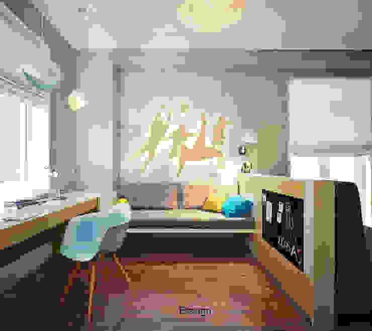 Crossing of Styles Детские комната в эклектичном стиле от DA-Design Эклектичный