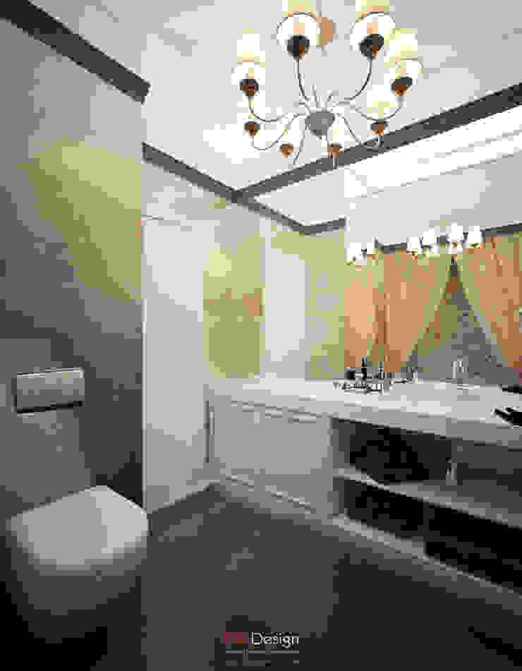 Crossing of Styles Ванная комната в эклектичном стиле от DA-Design Эклектичный