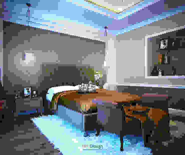 Crossing of Styles Спальня в эклектичном стиле от DA-Design Эклектичный