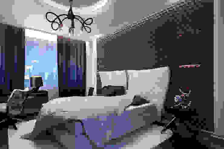 Glamour Apartment Спальня в эклектичном стиле от DA-Design Эклектичный