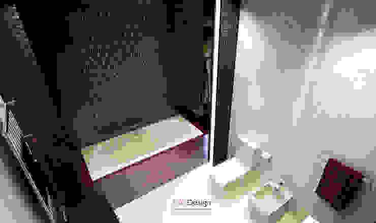 Glamour Apartment Ванная комната в эклектичном стиле от DA-Design Эклектичный