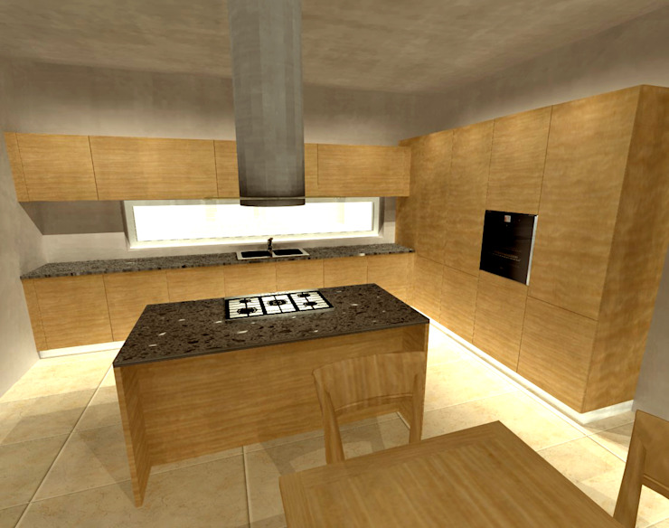 Modern Mutfak Simone Battistotti - SB design Modern