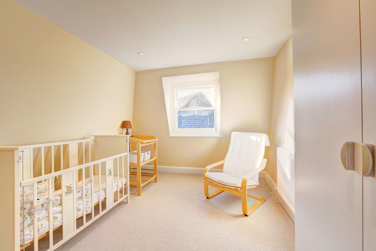 l-shaped dormer loft conversion wandsworth Modern style bedroom by homify Modern