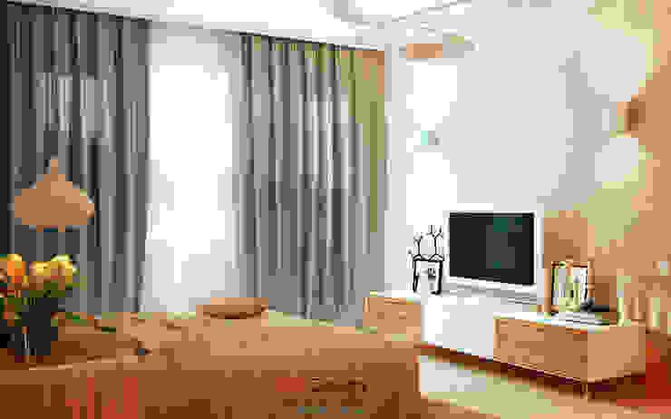 Modern House Спальня в стиле минимализм от DA-Design Минимализм