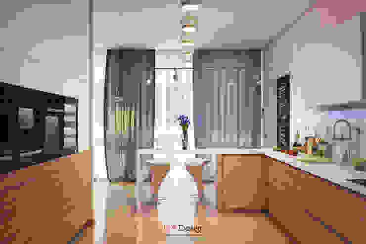 Modern House Кухня в стиле минимализм от DA-Design Минимализм