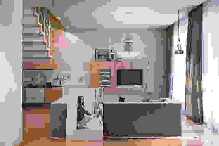 Modern House Гостиная в стиле минимализм от DA-Design Минимализм