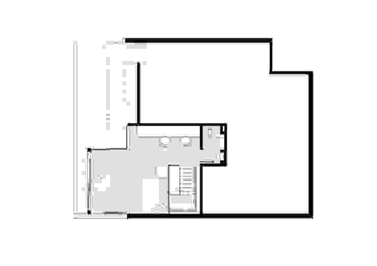 Paredes y pisos modernos de House in Rio Moderno