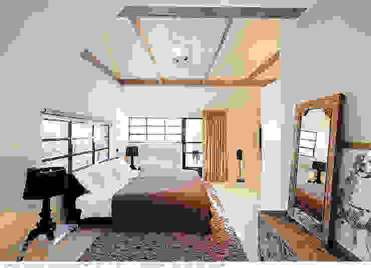 transformatie naar een ingetogen luxe villa te Heiloo Landelijke slaapkamers van Heleen Rombout interieurarchitect BNI Landelijk