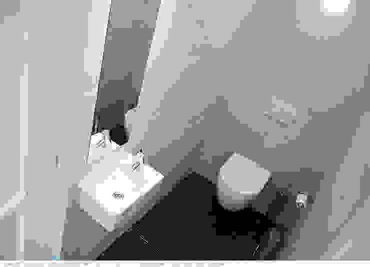 transformatie naar een ingetogen luxe villa te Heiloo Moderne badkamers van Heleen Rombout interieurarchitect BNI Modern