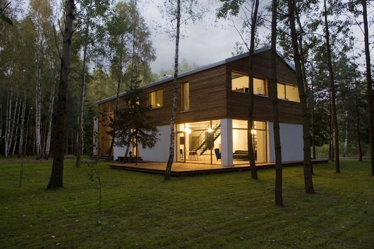 Houses by ANONIMOWI ARCHITEKCI,