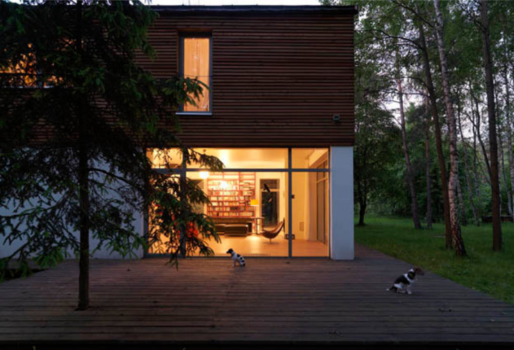 Houses by ANONIMOWI ARCHITEKCI, Scandinavian