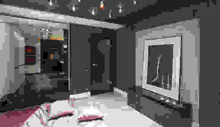 Красное на черном Спальня в стиле минимализм от Худякова Людмила Минимализм