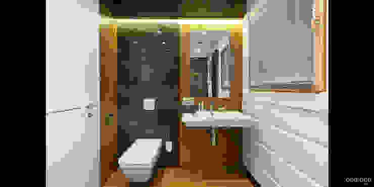 Ванная комната 1 этажа Ванная комната в стиле минимализм от oneione Минимализм