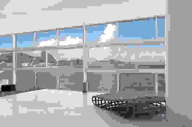 Vista estar Salas de estar modernas por House in Rio Moderno