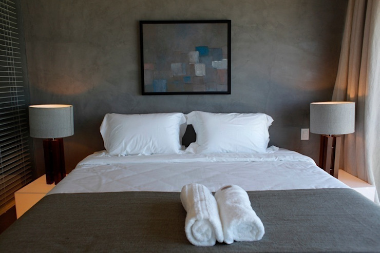 Modern style bedroom by House in Rio Modern