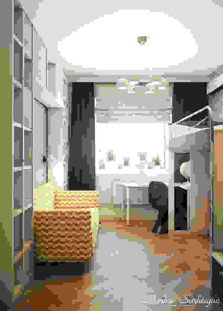 """<q class=""""-first"""">Owl in the city</q> Детские комната в эклектичном стиле от Marina Sarkisyan Эклектичный"""