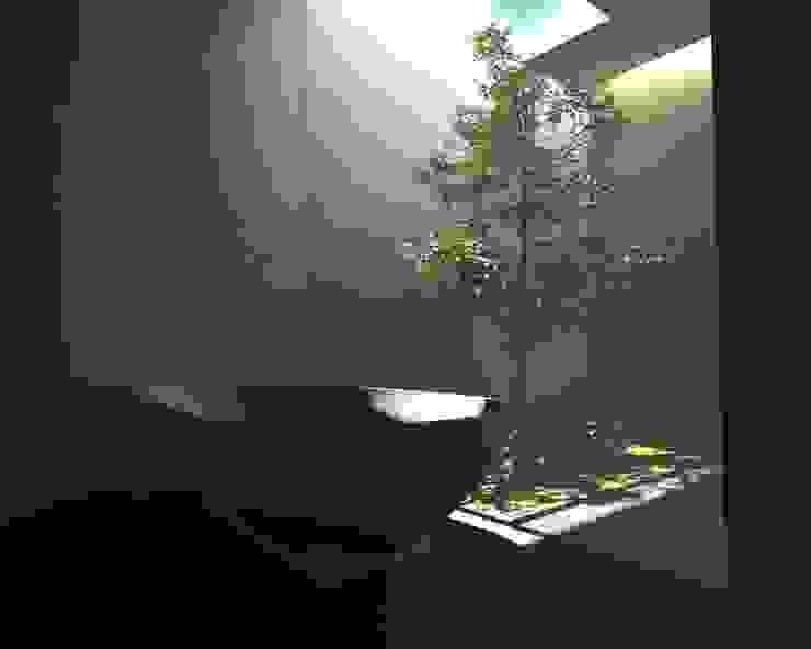 Minimalist style bathrooms by gk architetti (Carlo Andrea Gorelli+Keiko Kondo) Minimalist