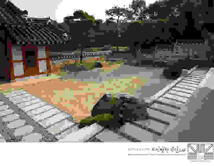 비움의 안마당/남양홍씨 대호군파 재실정원 아시아스타일 정원 by Urban Garden AIN.Ltd 한옥