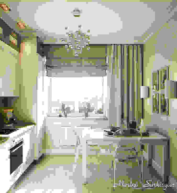"""<q class=""""-first"""">Owl in the city</q> Кухни в эклектичном стиле от Marina Sarkisyan Эклектичный"""