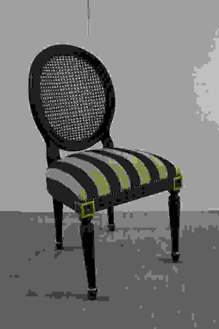 Louis XVI Medallion Yemek Sandalyesi Marangoz Çırağı Klasik