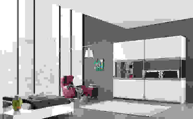 Trabcelona Design – iber yatak odası: modern tarz , Modern
