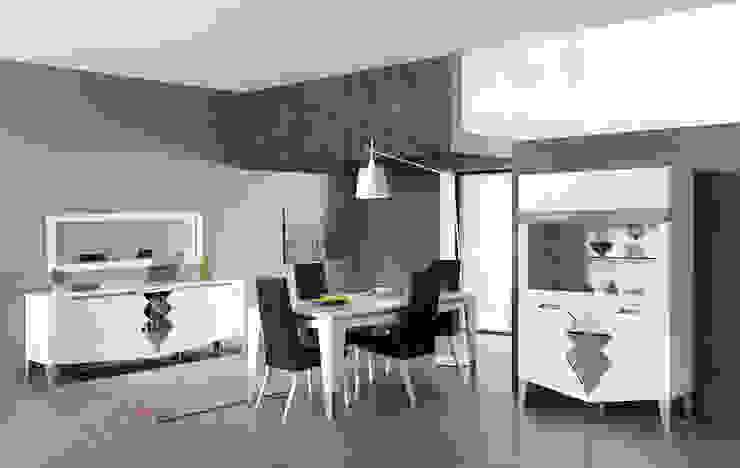 Trabcelona Design – iber yemek odası : modern tarz , Modern