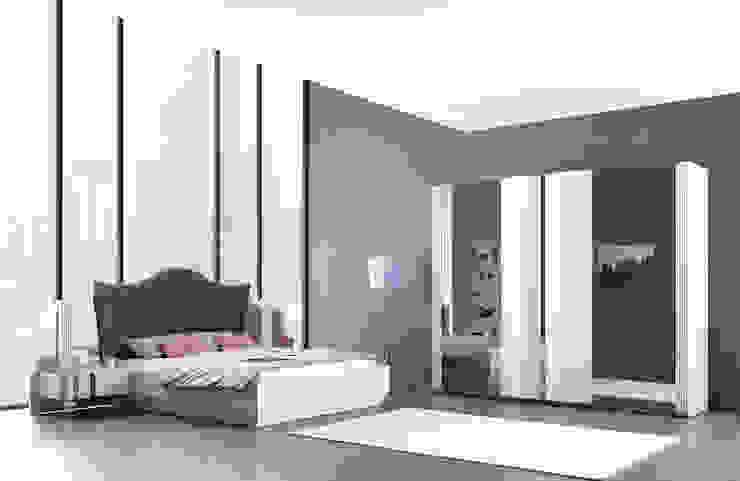 Trabcelona Design – ottoman yatak odası : modern tarz , Modern