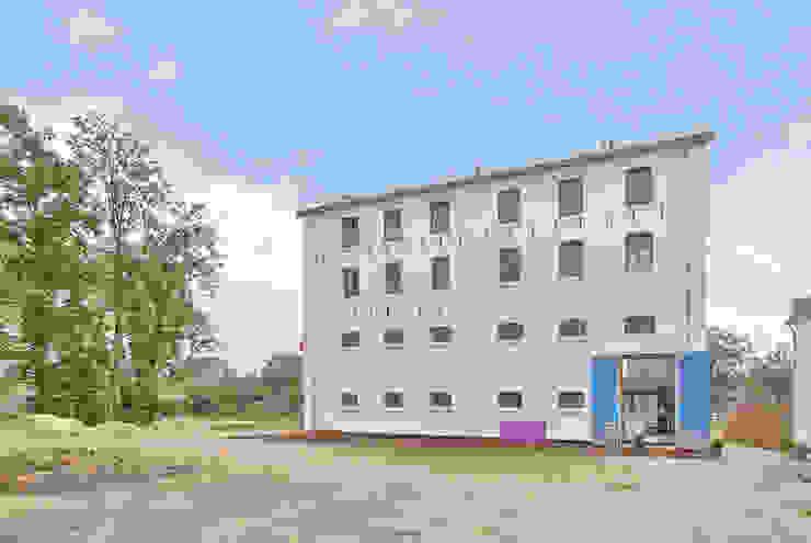 nieuwe achtergevel van Architectenbureau Prent BV