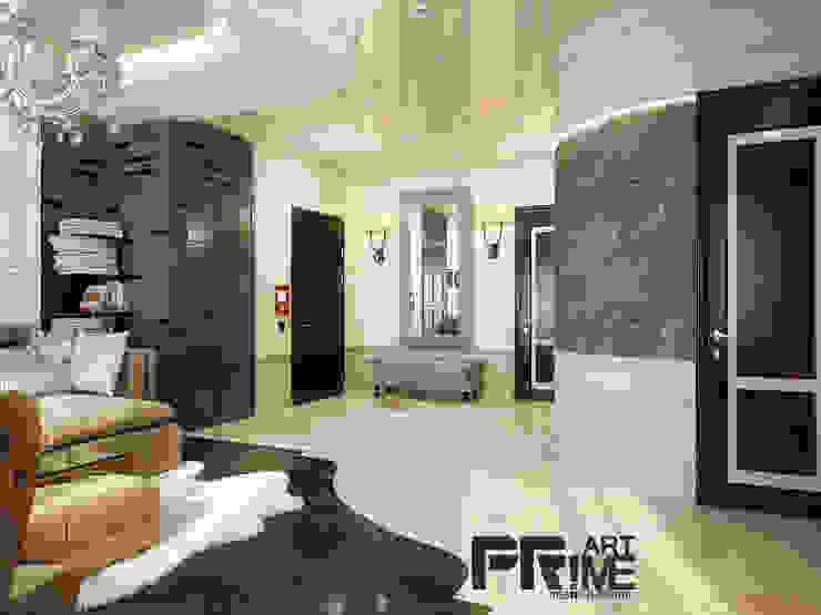 неоклассика 25$ кв.м. Гостиная в классическом стиле от 'PRimeART' Классический