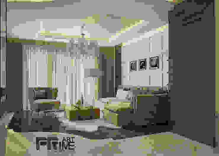 дизайн гостиной Гостиная в классическом стиле от 'PRimeART' Классический