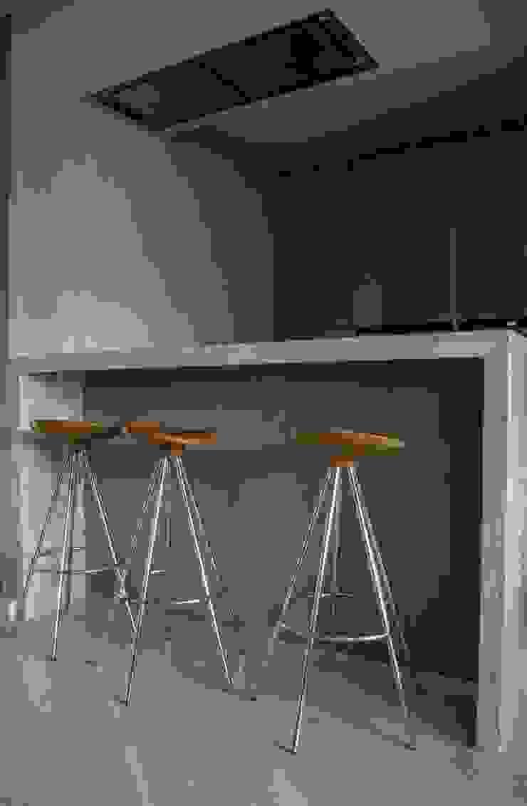 cocina integral Cocinas de estilo minimalista de ZimmeR designer Minimalista
