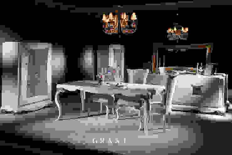 Trabcelona Design – Grant yemek odası: modern tarz , Modern