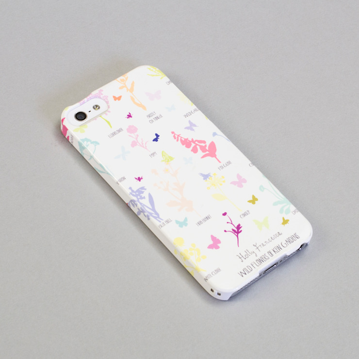 Wildflowers - Phone Case par Holly Francesca Moderne