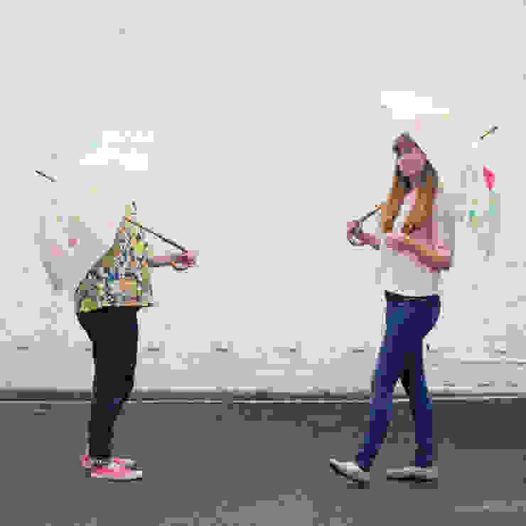 Map of London Umbrella: modern  by Holly Francesca, Modern