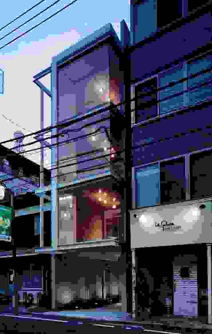 el Forty One モダンな 家 の SOCIUS一級建築士事務所 モダン ガラス
