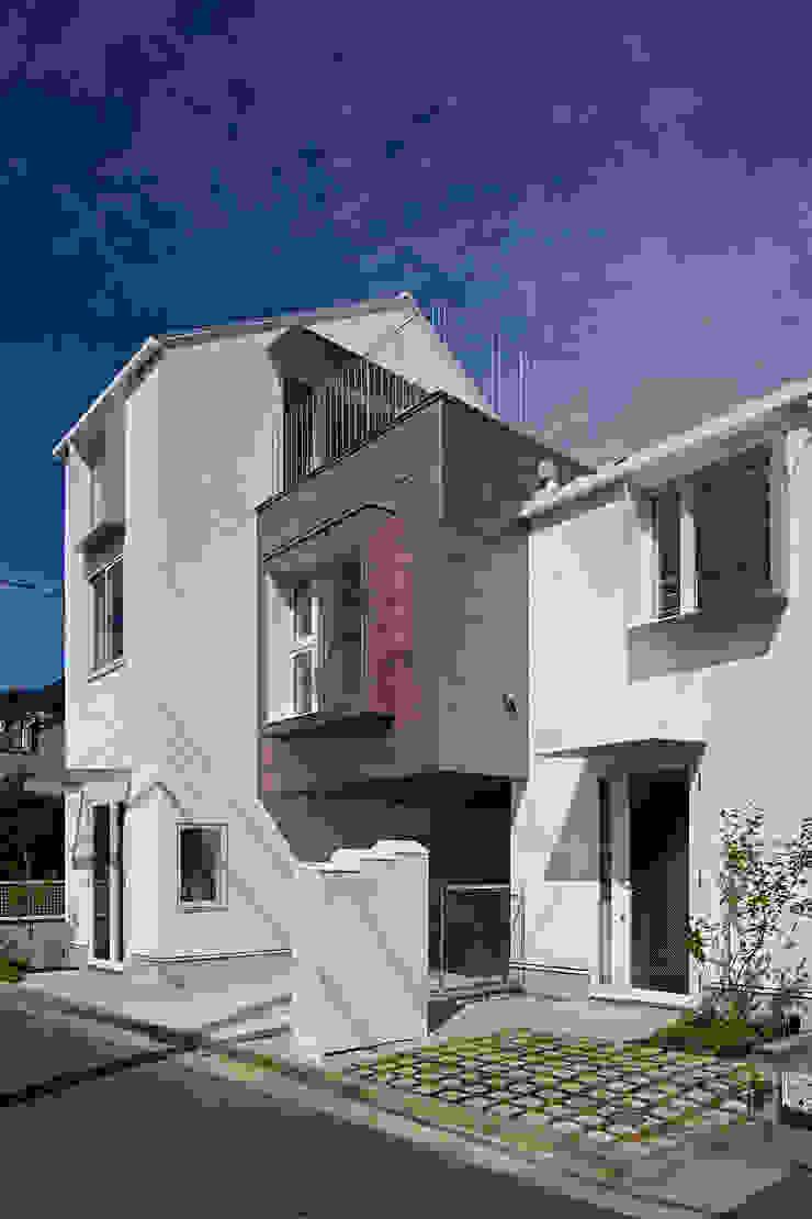sandwich apartment オリジナルな 家 の 池田雪絵大野俊治 一級建築士事務所 オリジナル
