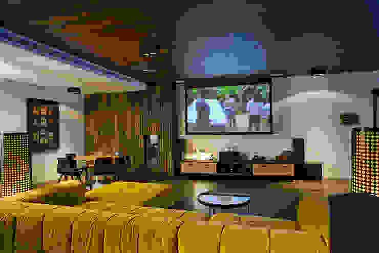 Salle multimédia moderne par Jorge Belloch interiorismo Moderne