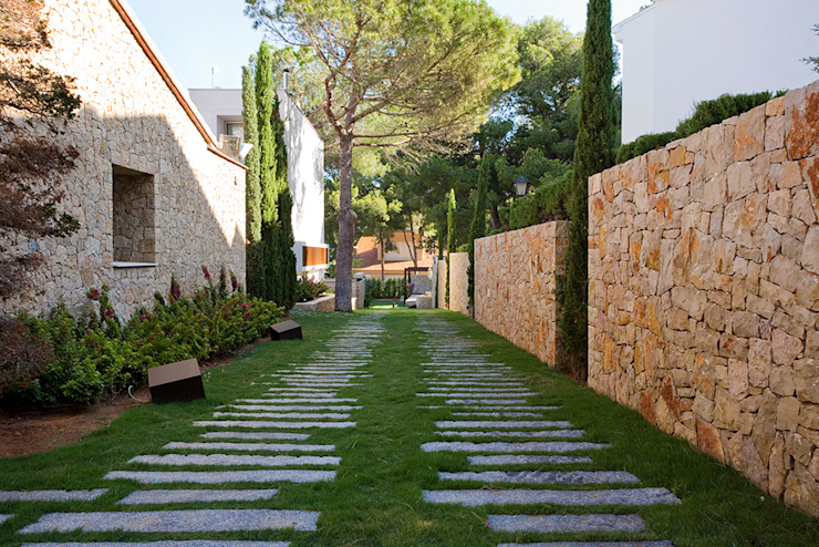 Jardins modernos por Jorge Belloch interiorismo Moderno