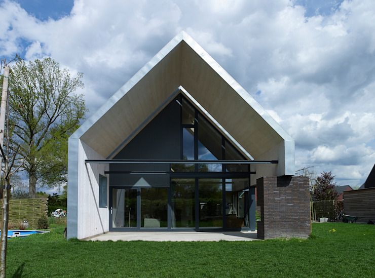 Houses by Thomas Kemme Architecten, Modern
