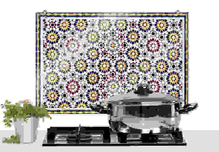 Spritzschutz Orientalische Kacheln von K&L Wall Art Mediterran