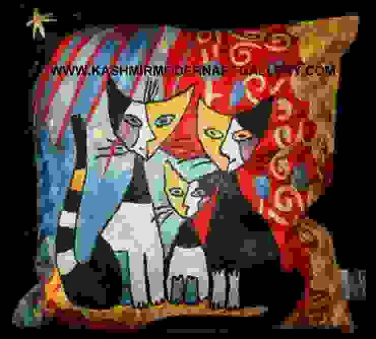 cat family: modern  by kashmir modernart gallery,Modern