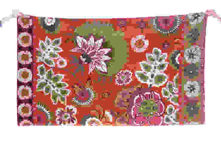 lotus wool rug: modern  by kashmir modernart gallery,Modern