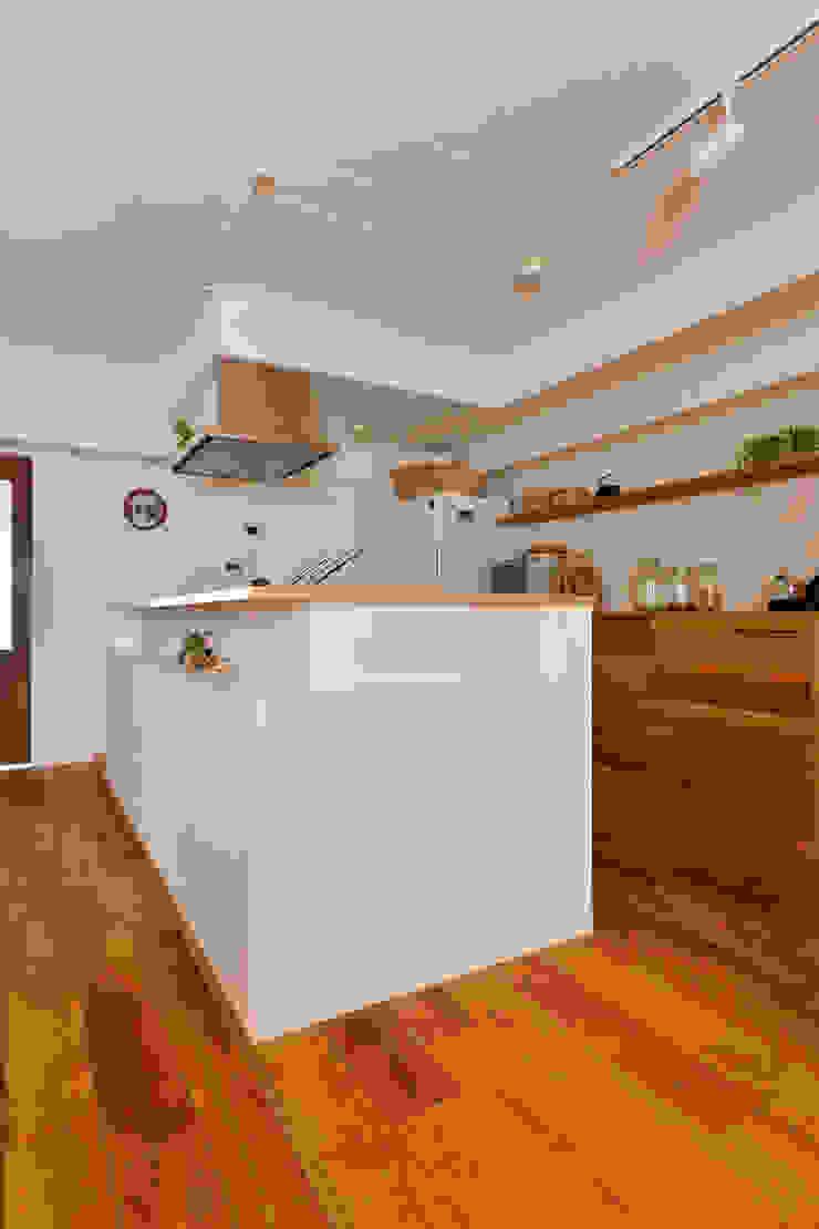 余白をデザインする モダンな キッチン の 株式会社スタイル工房 モダン