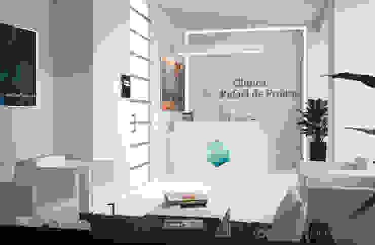 Proyecto de interiorismo en Clínica Capilar. Clínicas de estilo minimalista de Ideas Interiorismo Exclusivo, SLU Minimalista