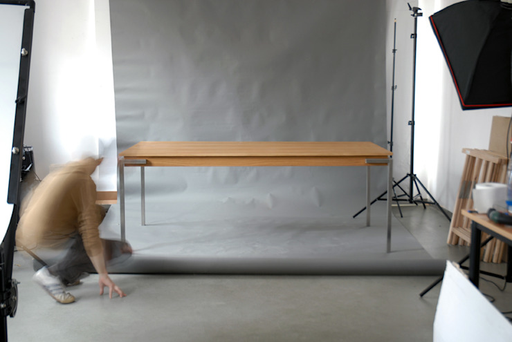 Just Table (sh4eg) extra long od hanczar studio Minimalistyczny