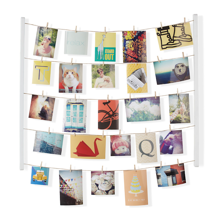 Umbra Hangit Photo Display - White de The Pod Company Moderno
