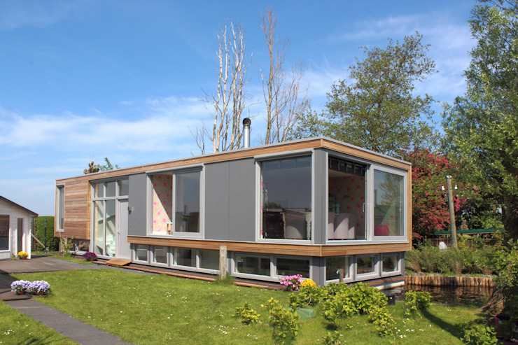 Woonboot Moderne huizen van Bob Ronday Architectuur Modern