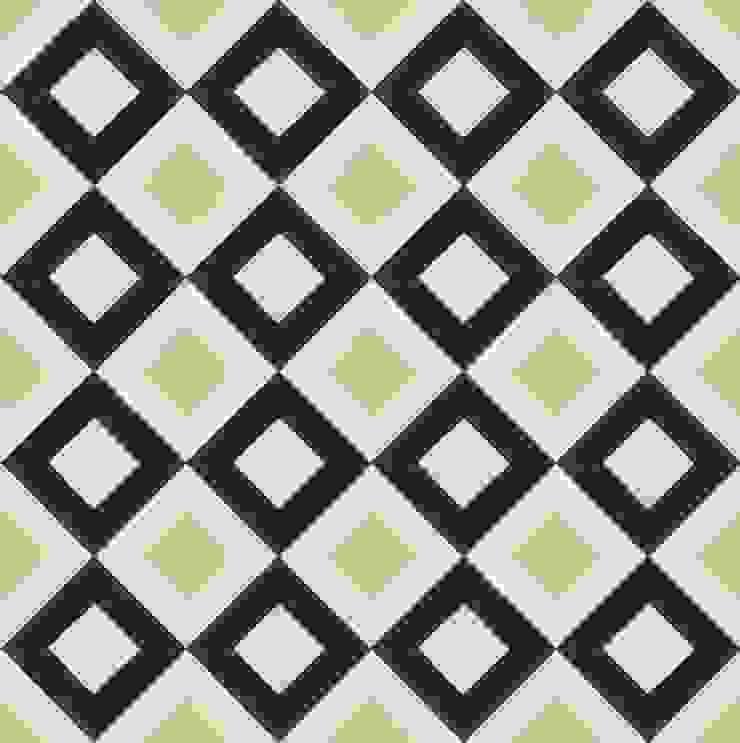 FALCAO - cementowe płytki podłogowe od Kolory Maroka Śródziemnomorski