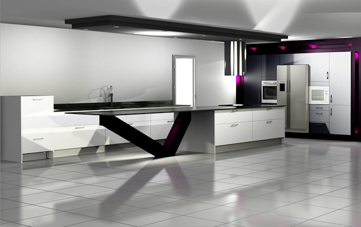 Kitchens A.C Agencement Cuisine moderne